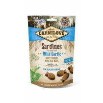 Carnilove Semi Moist Snack szardínia fokhagymával 200g