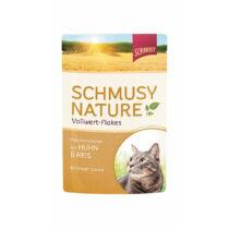 Schmusy Nature Vollwert-Flakes Macska Alutasakos Csirke+Rizs 100g