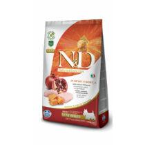 N&D Dog Grain Free Pumpkin Csirke és Gránátalma Adult Mini