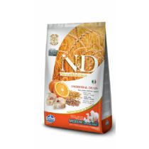 N&D Low Grain Tőkehal és Narancs Adult Mini 7kg