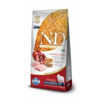 N&D Low Grain Csirke és Gránátalma Adult Maxi 12 kg