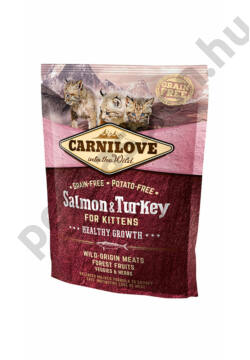 CARNILOVE Cat Kitten Salmon and Turkey