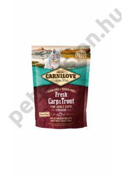 CARNILOVE CAT Fresh Adult Ponty és Pisztráng Sterilised