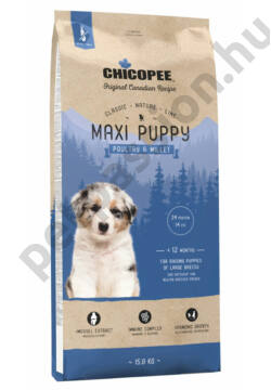 Chicopee Classic Line – Maxi Puppy Poultry & Millet