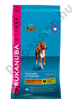 Eukanuba Mature and Senior Medium Breed