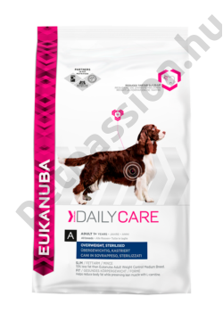 Eukanuba Daily Care Overweight Sterilised