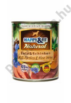 Happy&Fit kacsahússal, sonkával, sütőtökkel és aloe verávalt Bárány-Alma 800 g
