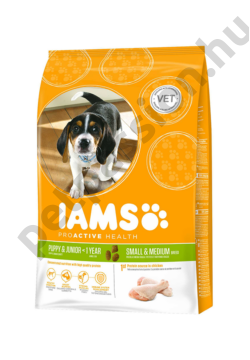 IAMS Dog Proactive Health Puppy&Junior Small&Medium