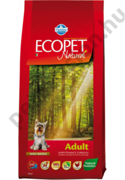 Ecopet Natural Adult Mini 12+2 kg