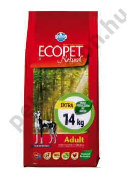 Ecopet Natural Adult Maxi 12+2 kg