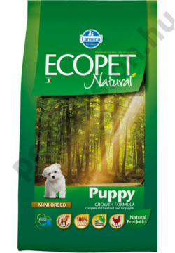 Ecopet Natural Puppy Mini 12+2 kg