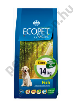 Ecopet Natural Adult Fish Medium 12+2 kg