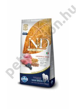 N and D Low Grain Bárány és Áfonya Adult Maxi12 kg