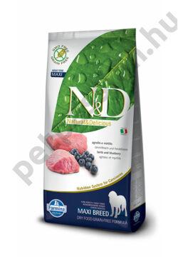 N&D Bárány és Áfonya Adult Maxi 12 kg