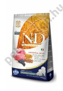 N&D Low Grain Bárány és Áfonya Puppy Medium/Maxi12 kg