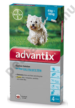Advantix Spot On 4-10kg (1 pipetta)