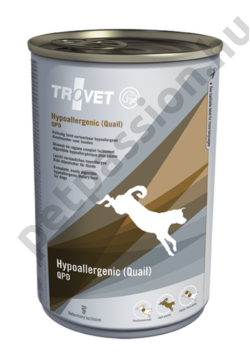 TROVET HYPOALLERGENIC QUAIL (QPD) 400 g