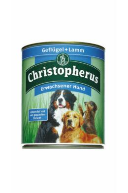 Christopherus Dog konzerv Adult szárnyas és bárány 800g