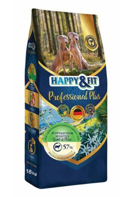 Happy&Fit Professional Plus Junior&Puppy Sensitive Bárány Rizs 18kg