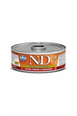 N and D Cat Csirke és Gránátalma sütőtökkel 80g