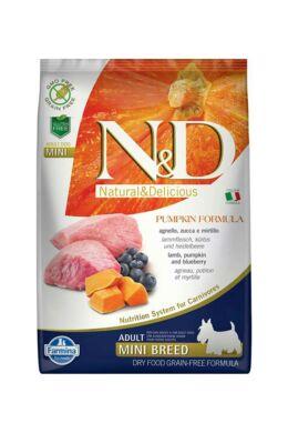 N and D Dog Grain Free Pumpkin Bárány és Áfonya Adult Mini 7 kg