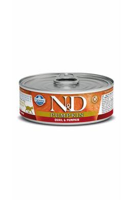 N and D Cat fürj sütőtökkel 80g