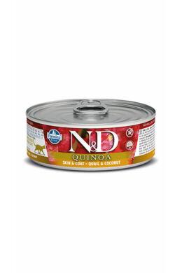 N and D Cat quinoa fürj kókusszal 80g