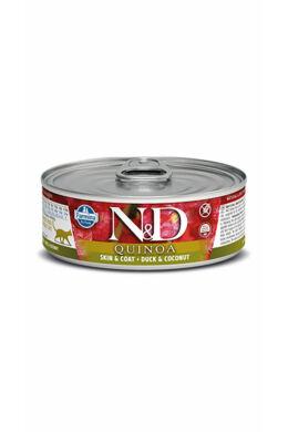 N and D Cat quinoa kacsa kókusszal 80g