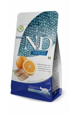 N and D Cat Hal és Narancs 300 g