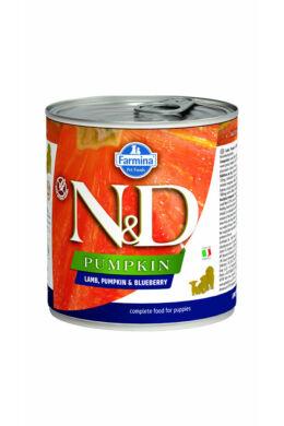 N&D Dog Bárány és Áfonya sütőtökkel Puppy 285g