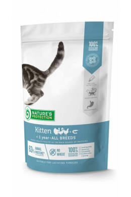 Nature's Protection Kitten Poultry with Krill 400 g