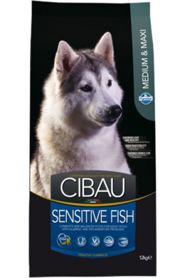 Cibau Sensitive Fish Medium and Maxi 12 kg