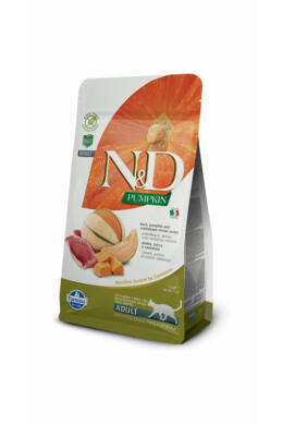 N and D Cat Pumpkin Duck300g