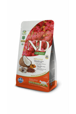 N and D Cat Quinoa Skin&coat Herring 300g