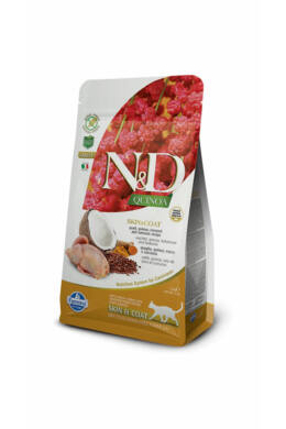 N and D Cat Quinoa Skin&coat Quail 300g