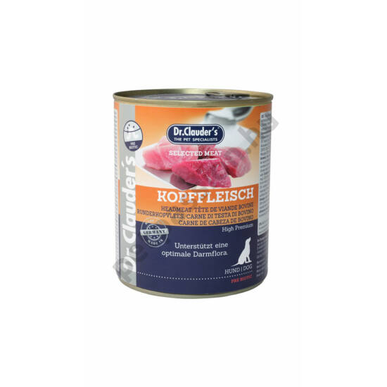 Dr.Clauder's Selected Meat Fejhús 800 g