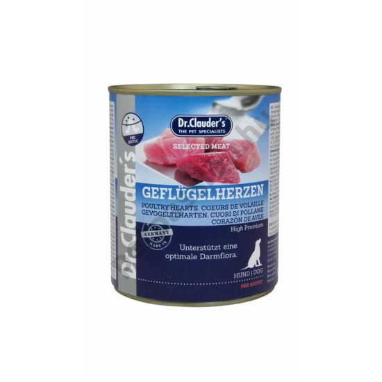 Dr.Clauder's Selected Meat Szárnyas Szív 800 g