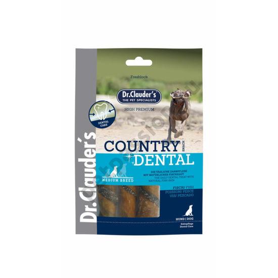 Dr.Clauders Jutalomfalat Country Dental Halbőr 100g