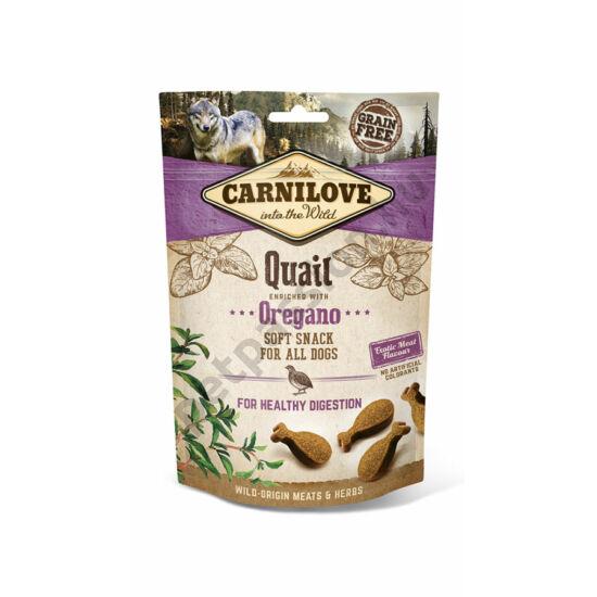 Carnilove Semi Moist Snack fürj oregánóval 200g