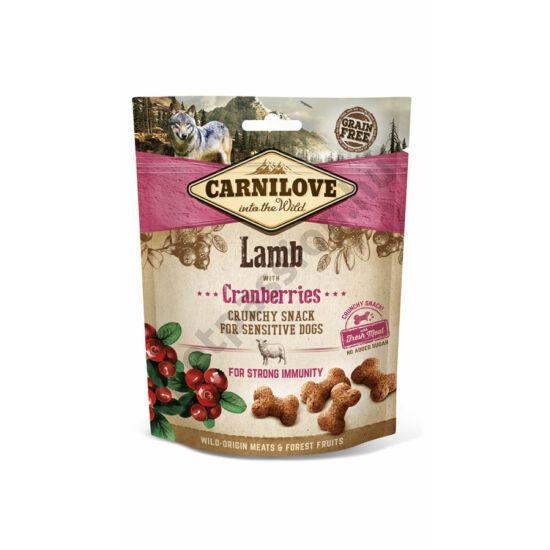 Carnilove Crunchy Snack bárányhús vörösáfonyával 200g