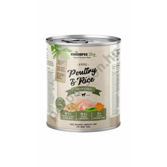 Chicopee Dog konzerv szárnyas és rizs