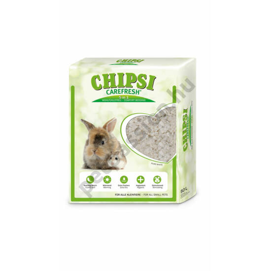 Chipsi Carefresh Pure White 5l.