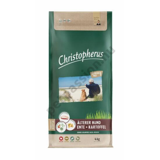 Christopherus Dog Senior Grainfree Kacsa és burgonya 12kg