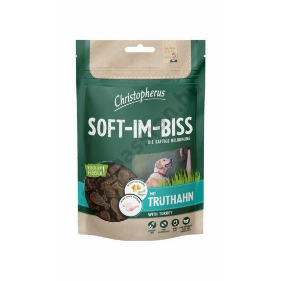 Christopherus Dog Jutalomfalat Grain Free Soft-Im-Biss Pulyka 125g