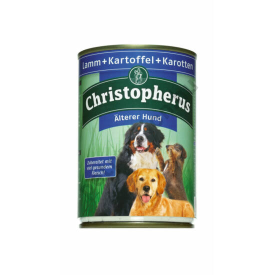 Christopherus Dog konzerv Senior bárány és burgonya 400g