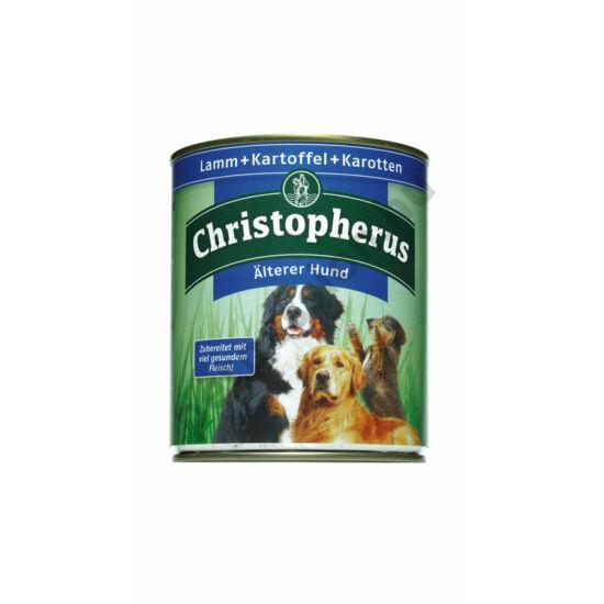Christopherus Dog konzerv Senior bárány és burgonya 800g