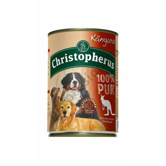 Christopherus Dog konzerv Adult 100% Pure kenguru 400g