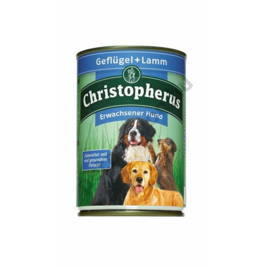 Christopherus Dog konzerv Adult szárnyas és bárány 400g