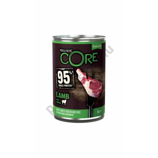 Wellness Core Dog Bárány sütőtök 400g