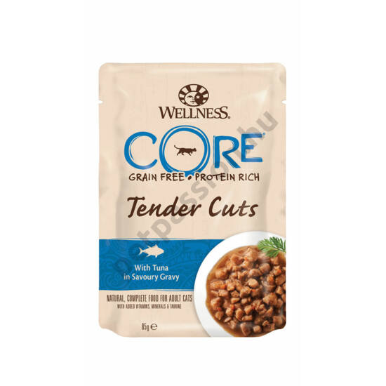 Wellness Core Cat Alutasak Tonhal 85g